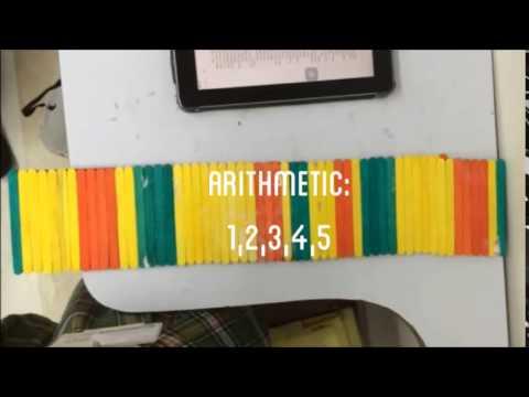 Algebra Project: Popsicle stick bridge