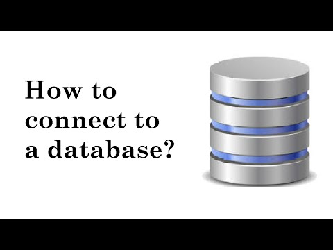 IQ 13: How to connect to a database?