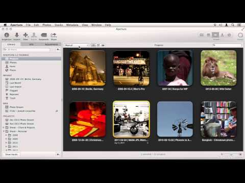 Aperture 3.3 and Above Interface Tour