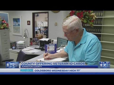Johnston County offering veteran ID cards