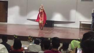 Punjabi Dance Performance done by Arshdeep Kaur Sarao at Panjab University