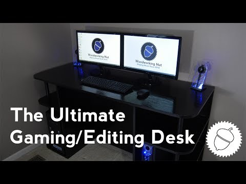 How to Build the BEST Gaming/Video Editing Desk | FOR SUPER CHEAP!