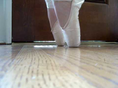 Pointe Shoes- Grishko 2007- Trying to get over the box