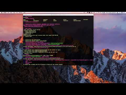 How to Install/Update to PHP7 on MacOS Sierra via Homebrew