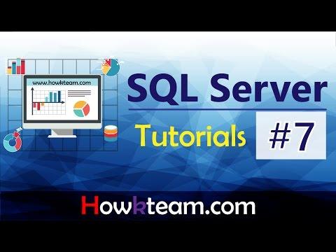 [Khóa học sử dụng SQL server] - Bài 7: Tạo khóa ngoại  HowKteam