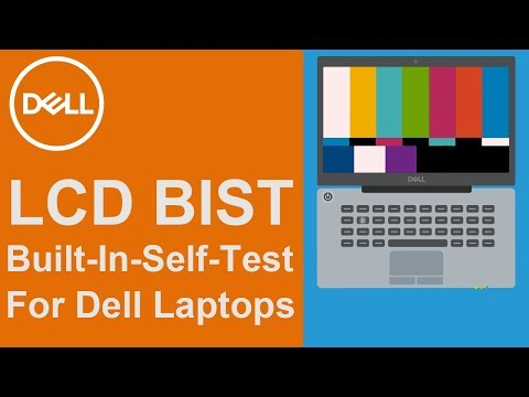LCD BIST (Official Dell Tech Support)