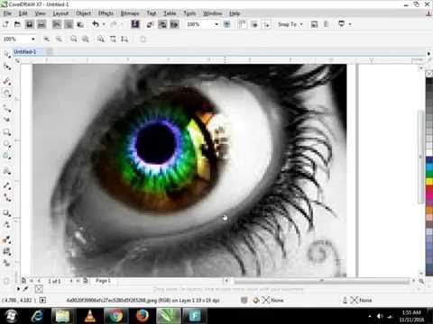 How to Improve Low Resolution Image in Corel Draw X7 Episode 1