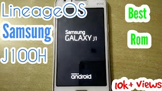 Samsung J100 H Nougat P ROM - Just beautiful - Powered by
