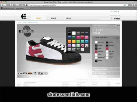 How to Design Your Own Custom etnies Skate Shoes
