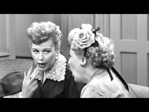 I Love Lucy scene: Ethel and Lucy learn French