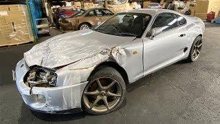 I Bought a Crashed JDM Supra In Japan!