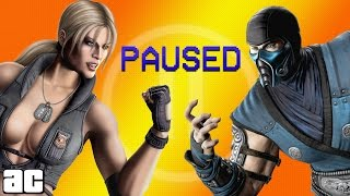 What Happens When You Pause Mortal Kombat? | Animated Parodies