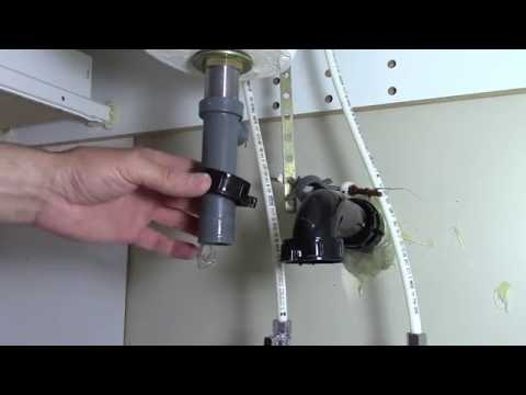 How to fix a clogged bathroom sink