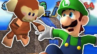 Download GIMME THE MONKEY - Sucking at Mario 64 DS (Part 3) Video