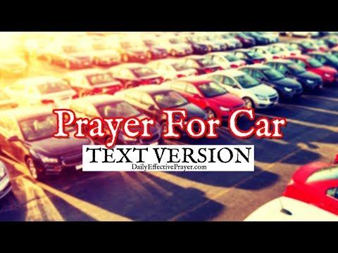 Prayer For Car - Prayers For New Car (Text Version - No Sound)