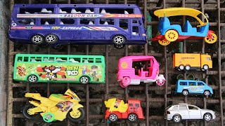 Toy vehicles were found in an old iron cage! Searching for toy vehicles near water tap iron cage