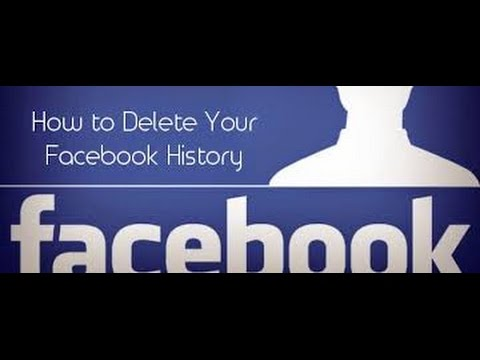 How to delete facebook search history 2015 100% working video