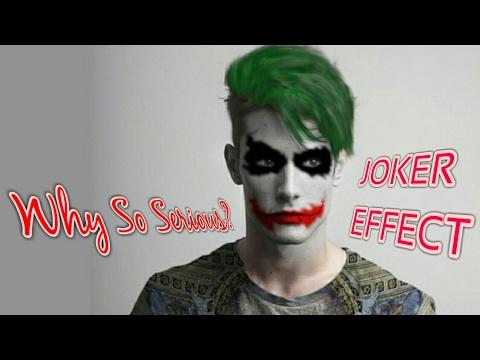 Joker(Heath Ledger) Face Effect With Photoshop CC