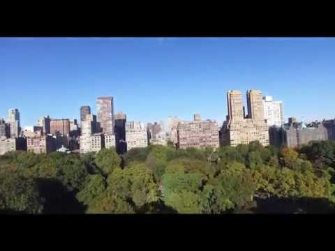 Aerial Footage in Central and Battery Park (NYC)