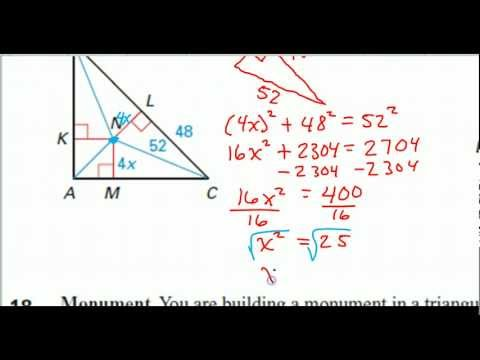 Incenter and Angle Bisector Problems
