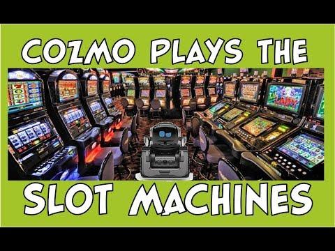 Cozmo the Robot | Cozmo Plays the Slot Machines | Episode #89 | #cozmoments