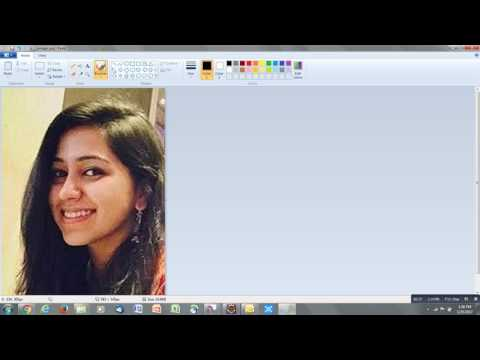 Increase photo resolution using paint