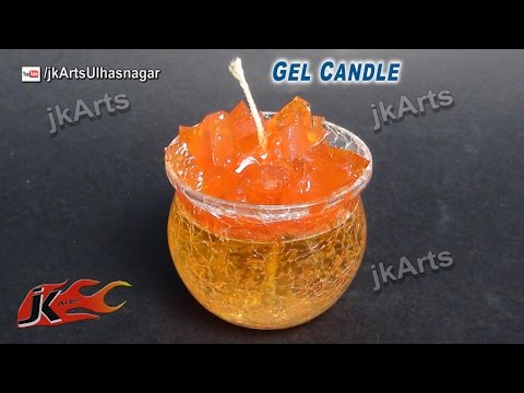 How to make Gel Candle  | JK Arts 496
