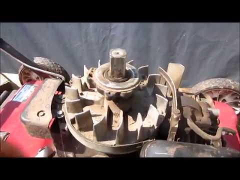 Reparing a Murray Lawnmower