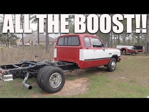 FIRST GEN 12V CUMMINS TAKES ALL THE BOOST!!