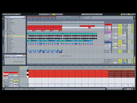 Ableton Live Dubstep Tutorial - The Break Down / Build Up (Part 1)