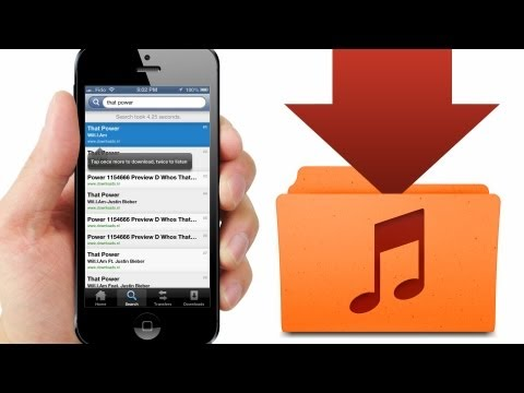 How to Download FREE MUSIC directly to iPod Library on iPhone, iPod, iPad (Jailbreak Required)