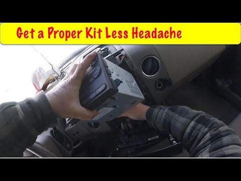 Install A Car Stereo the Easy Way DIY