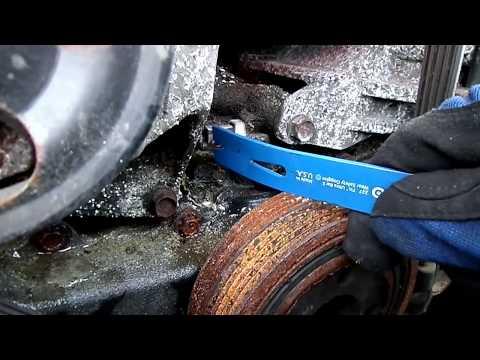 Subaru Crankshaft Sensor Removal