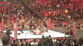 WWE The Shield Put Sheamus Through A Table After Raw Goes Off The Air: December 4, 2017
