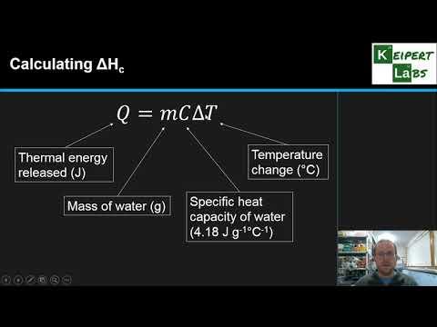 Molar Heat of Combustion