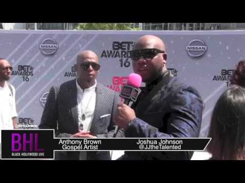 Anthony Brown Shares a Word on the BET Awards Red Carpet