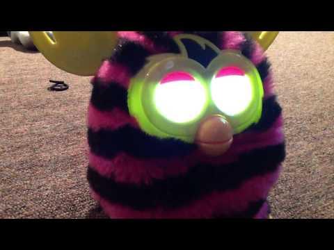 Furby starts to sleep