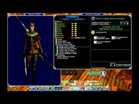 LOTRO ROR Riders Of Rohan: Tailors Guild: Level 85 Armor Sets
