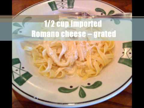 FIND OUT Olive Garden Fettuccine Alfredo's SECRET RECIPE!