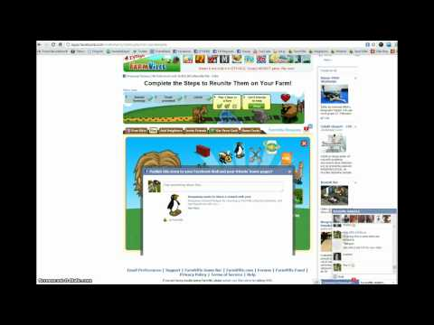 How to post links to friends in FarmVille II