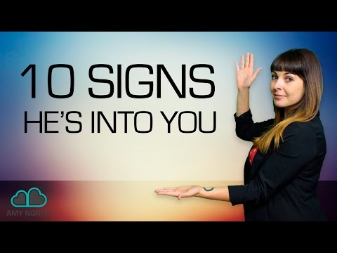 Subtle Signs He's Into You (Body Language SECRETS)