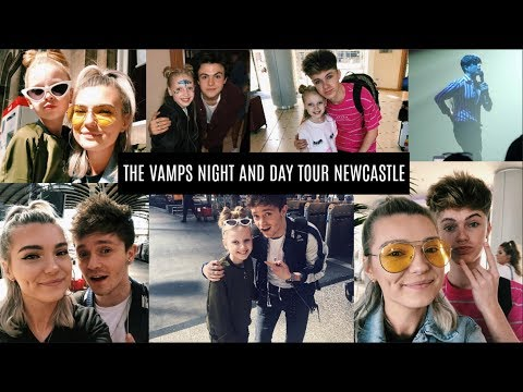 The Vamps Night & Day Tour Newcastle | Meeting The Vamps, HRVY & NHC | LoveFings