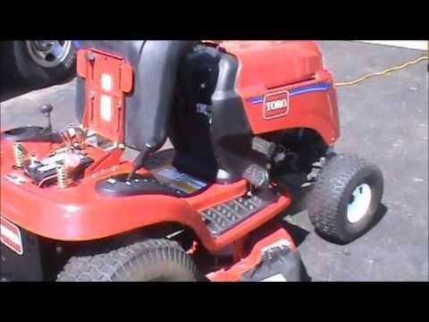 Toro 426 LX Tractor Craigslist Find