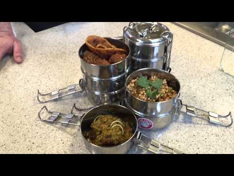 Traditional Indian Tiffin Boxes