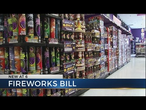 Lawmakers propose making consumer fireworks legal in Ohio