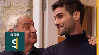 Dementia: How my granddad is coping - BBC Stories