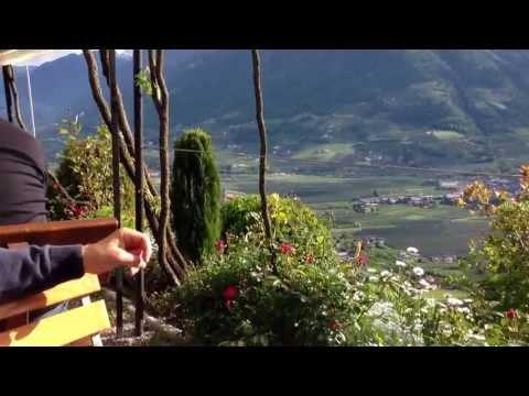 Italian Alps. Forst Biergarten