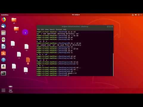 How to Copy Directory & File Using Command in Linux | Linux Command Bangla Tutorial | cp command