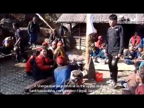 Sherpa marriage in village   1