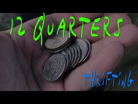CAN YOU MAKE ANY MONEY AT GOODWILL WITH 12  QUARTERS?